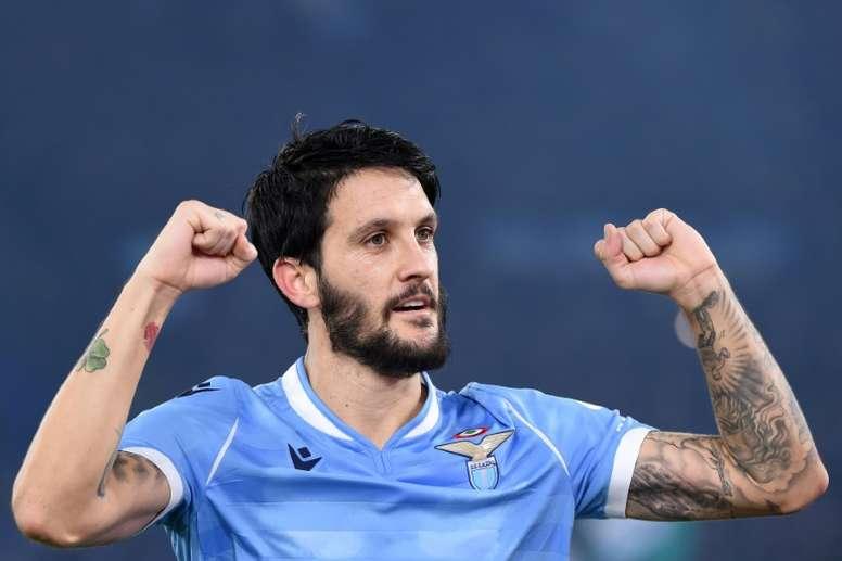 Las cifras de la Lazio para atar a Luis Alberto. AFP
