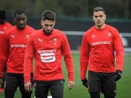 Ben Arfa retrouvera Emery ce soir en Europa League. AFP