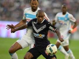 Diego Rolan intéresse Bordeaux. AFP