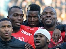 A Tours, les frères Pogba se mobilisent pour la Guinée. AFP