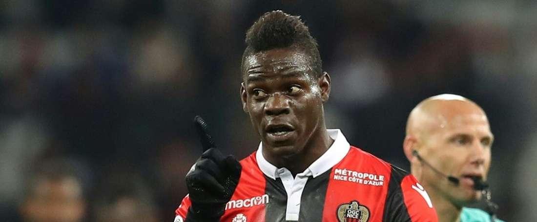O Nice bateu o St. Etienne por 1-0. AFP