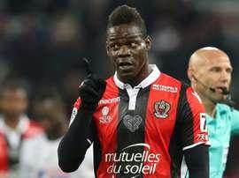 Balotelli é uma das figuras do Nice. EFE