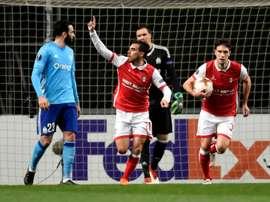 El Sporting de Braga arrolló al Estoril. AFP/Archivo