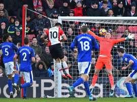 Everton joue son dernier match de la saison en Europa League. AFP