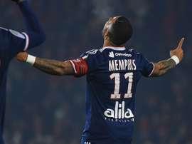 Memphis Depay dans le viseur de l'AC Milan ? AFP