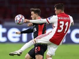 Liverpool s'impose avec un peu de réussite à l'Ajax. afp