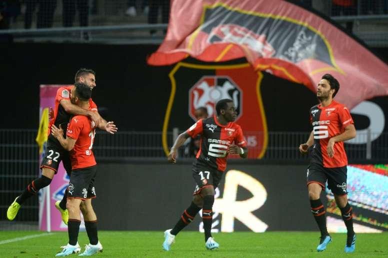 La liste de Rennes pour la Ligue Europa 2019-20. AFP
