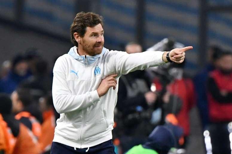 L'OM confirme : André Villas-Boas restera à Marseille. afp