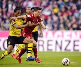 Dortmund est toujours à a lutte pour le titre en Allemagne. AFP