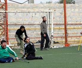 Le football est un remède. AFP