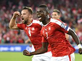 Embolo is thought to be a target for Pep Guardiola's side. AFP
