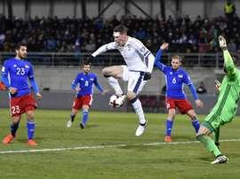 La Selección de Liechtenstein es algo atípica. AFP