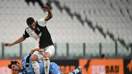 Bentancur fuori contro la SPAL. AFP