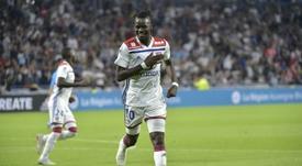 O Lyon recusa uma oferta por Traoré. AFP