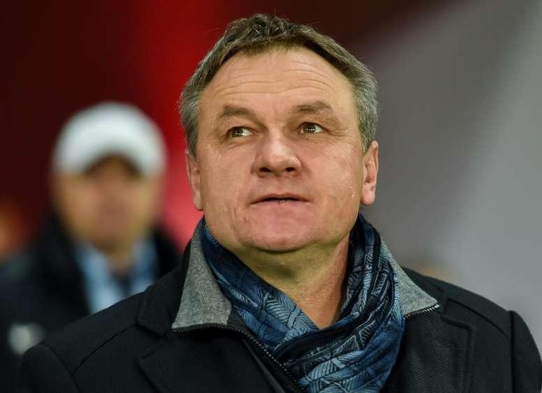 El club anunció la contratación a través de las redes sociales. AFP
