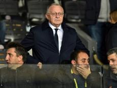 Aulas promet des sanctions après les incidents d'après-match. AFP
