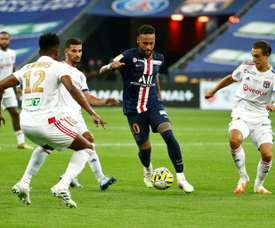 Neymar is experiencing his best moment in Paris. AFP