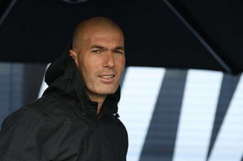 Le retour de Zidane. AFP