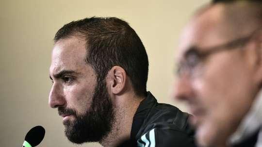 Higuain reste à la Juve. afp