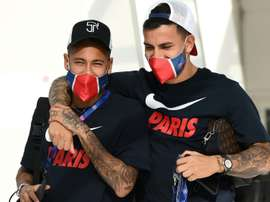 Paredes ne quittera pas Paris. AFP
