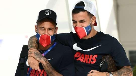 Paredes ne quittera pas Paris. AFP