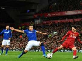 Everton have turned down Barca's bid for Richarlison. AFP