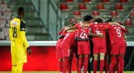 La eliminación del Dinamo de Zagreb sacude la fase previa. AFP