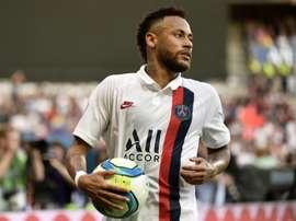 Neymar já não está mais entre os melhores do mundo. AFP