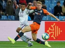 Saison terminée pour Cozza à Montpellier. AFP