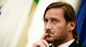 Totti quiere sanciones contra el racismo. AFP