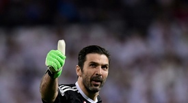 Buffon s'excuse. AFP