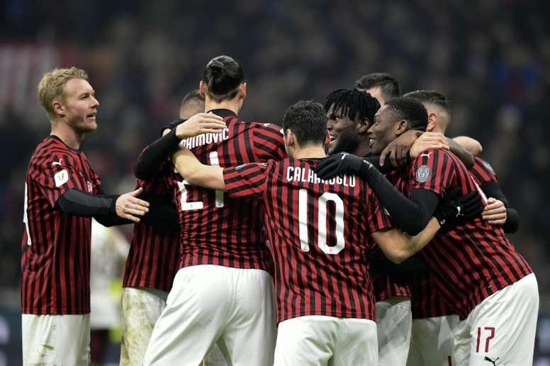 El Milan fue sancionado, como el City, pero redujo el castigo. AFP/Archivo