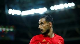 Chadli podría jugar en Lyon la próxima temporada. AFP