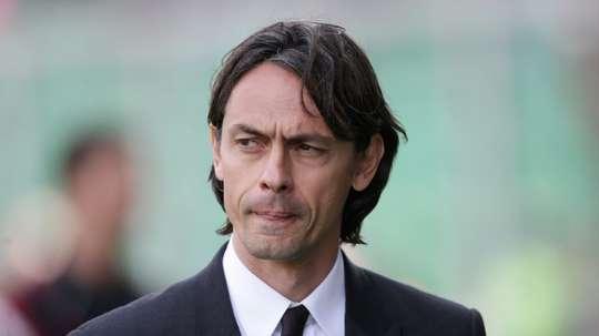 Filippo Inzaghi nommé entraîneur de Benevento. AFP