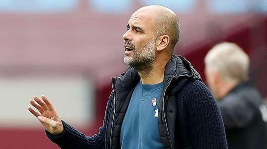 Le pire début de saison de la carrière de Guardiola. AFP