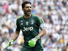 Buffon igualará marca de Maldini caso jogue contra a Sampdoria. AFP
