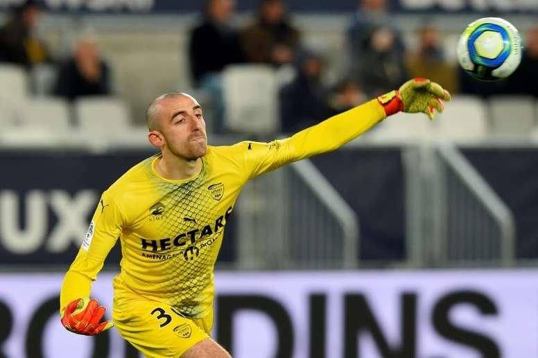Bernardoni conscient d'avoir un autre statut. AFP