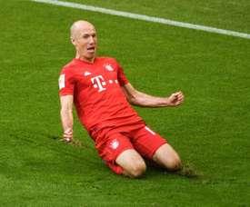 Un club brésilien veut sortir Robben de sa retraite AFP