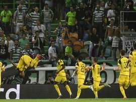 El Borussia Dortmund dio un paso de gigante hacia octavos. AFP