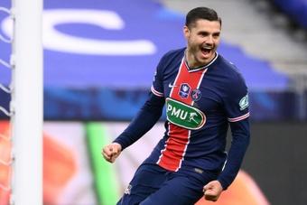 Le formazioni ufficiali di Lille-PSG. AFP