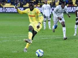 Les compos probables du match de Ligue 1 entre Nantes et Dijon. AFP