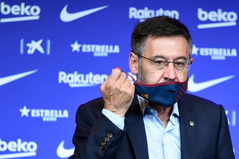 Bartomeu démissione du FC Barcelone. AFP