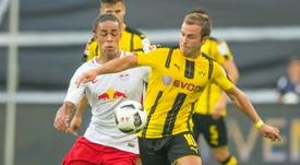 Götze oficialmente não continuará mais no Borussia. AFP