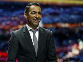 Youri Djorkaeff, le 29 août 2014 à Monaco. AFP