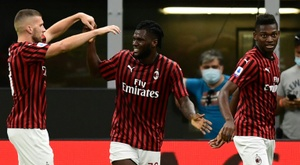 Milan derrotou o Parma por 3 a 1 pela 33ª rodada do Campeonato Italiiano. AFP
