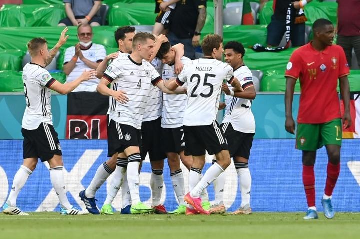 La Germania ribalta l'incontro. AFP