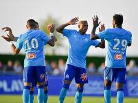 N'Jié foi o autor dos gols que decidiram a partida. AFP