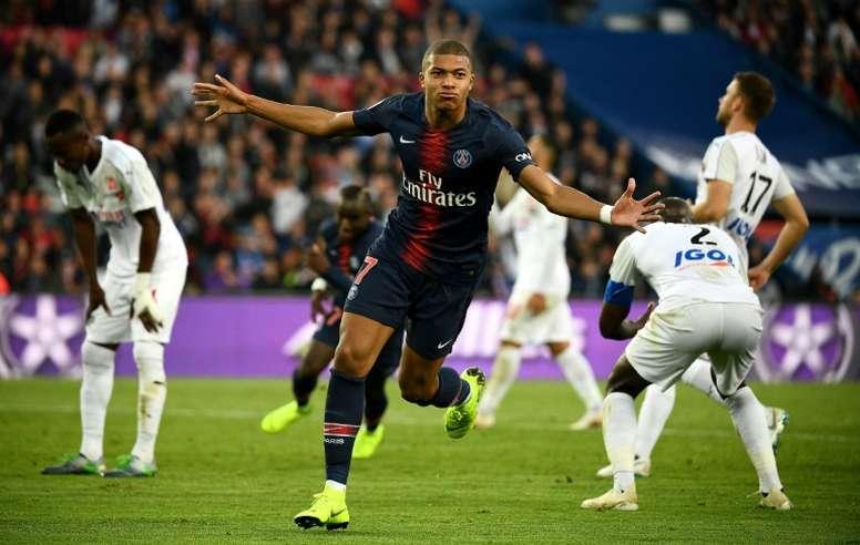 Les compos probables du match de Ligue 1 entre Amiens et le PSG. AFP
