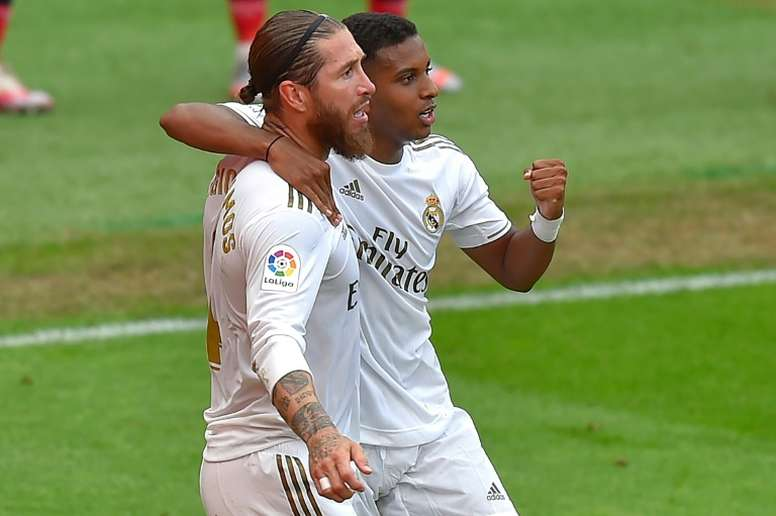 Decisive Ramos earns Real Madrid three more points. AFP