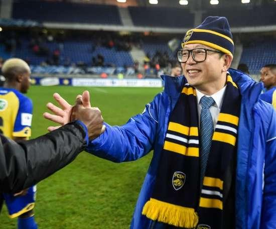 Li Wing Sang, l'ombre qui plane toujours sur le FC Sochaux. AFP